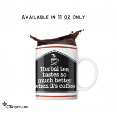 Ceramic Funny Coffee Mug Herbal Tea