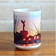 Keeper of the Plains Brotherhood Ceramic Mug