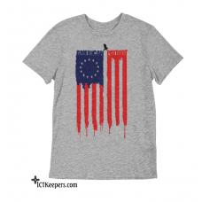 American Patriot Betsy Ross T-Shirt