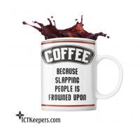 Ceramic Funny Coffee Mug Slap