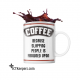 Ceramic Funny Coffee Mug Slap