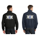 CA Throwback Jacket with Embroidered Back Patch
