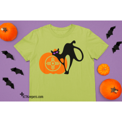 ICT Pumpkin Halloween T-Shirt