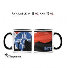 Ceramic Mug Wichita Skyline