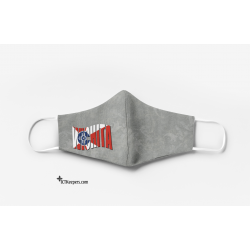 Wichita Wave Flag Face Mask