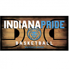 Auto License Tag for Indiana PRIDE Basketball