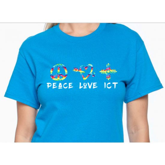 Peace Love ICT T-Shirt Wichita Kansas
