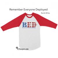R.E.D. Military Support T-Shirt