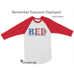 R.E.D. Military Support T-Shirt