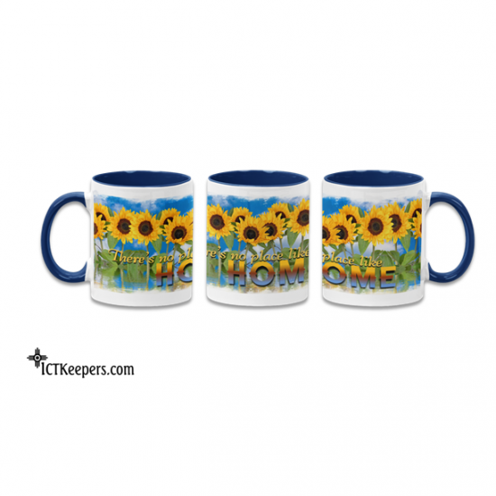 Ceramic Mug Kansas Sunflowers