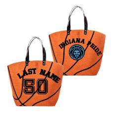 PRIDE Basketball  Logo Tote Bag