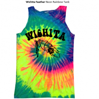 WICHITA FEATHER Tie Dye Tank