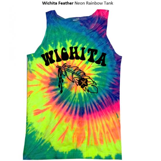 WICHITA FEATHER Tie Dye Tank