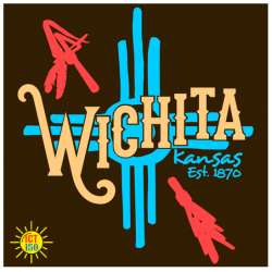 Wichita 150th Anniversary T-Shirt Chocolate