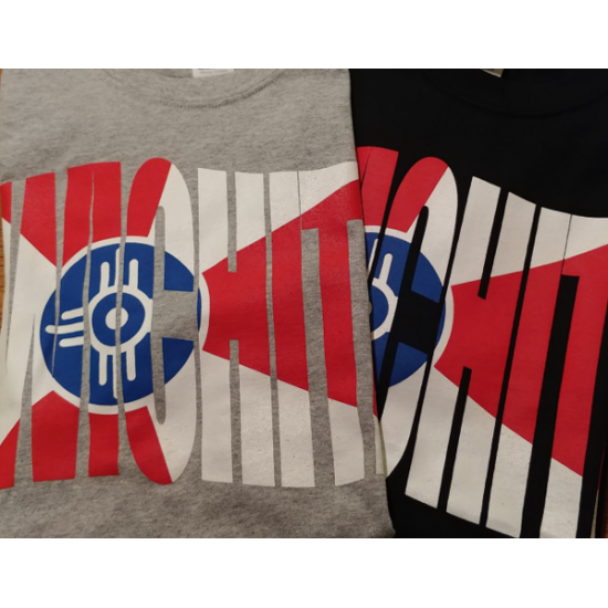 Wichita Flag Wave T-Shirt