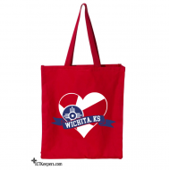 Wichita Heart Tote Bag