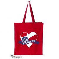 Wichita Heart Tote Bag